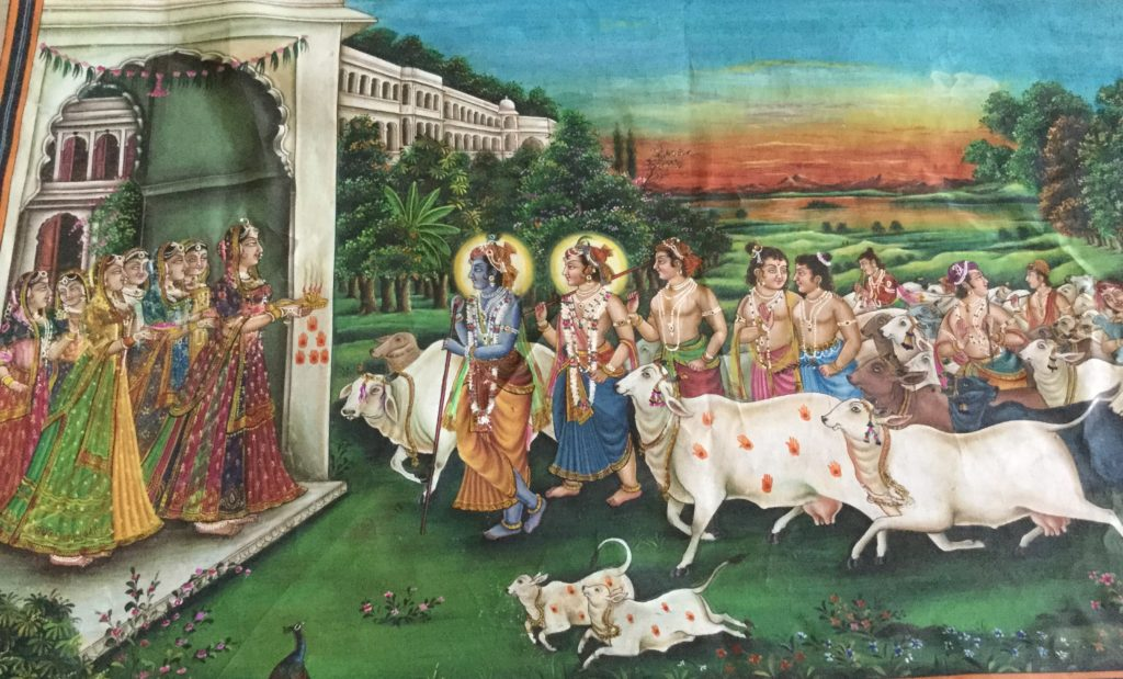 nandbaba and 9 lakh cows